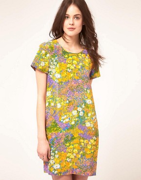 Image 1 of Whistles Wild Flower Silk Dress