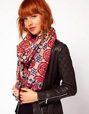 Yarnz Tapestry Cashmere Scarf