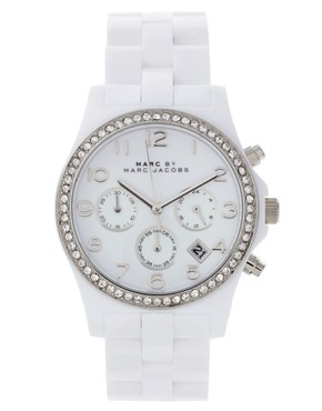 Image 1 of Marc By Marc Jacobs White Bracelet Watch