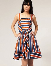 ASOS Summer Dress with Variegated Stripe