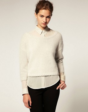 Image 1 of ASOS Premium Angora Sweater