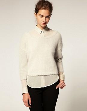 Image 1 of ASOS Premium Angora Sweater
