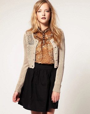 Image 1 of Vero Moda Cropped Cardigan