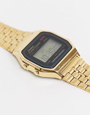 Image 2 - Casio - Montre digitale dorée