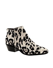 Sam Edelman Petty Leopard Ankle Boots