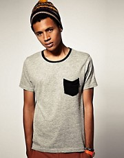 ASOS Crew Neck T-Shirt With Contrast Ringer