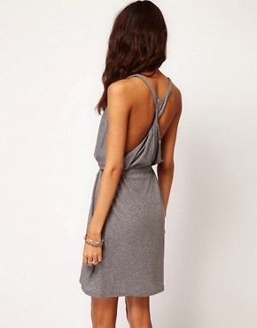 Image 2 ofCheap Monday Slouchy Dress with Twisted Racer Back