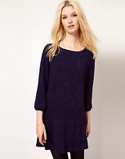 BA&SH Woven Day Dress with Flippy Skirt