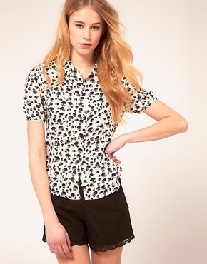 Image 1 of Peoples Market Skull Blouse