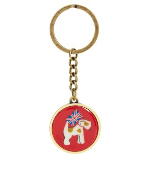 Image 1 ofCath Kidston Enamel Key Ring