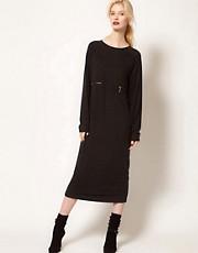BACK by Ann-Sofie Back Zip Long Sleeve Dress