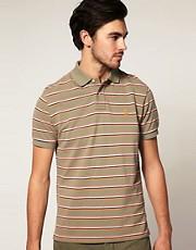 Polo Ralph Lauren Custom Fit Multi Stripe Polo Shirt