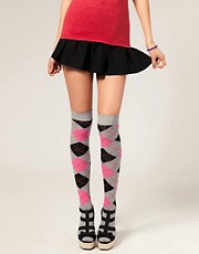 ASOS Bright Argyll Socks