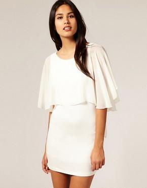 Image 1 ofTFNC Chiffon Layered Dress