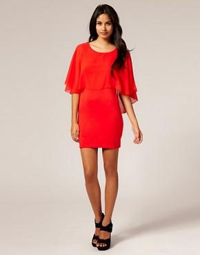 Image 4 ofTFNC Chiffon Layered Dress