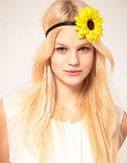 ASOS Sunflower Headband