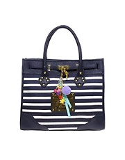 Paul's Boutique Olivia Stripe Large Tote Bag