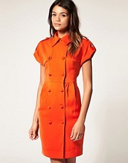 ASOS Shirt Dress with Button Front