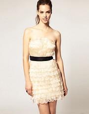 Forever Unique Petal Bandeau Dress