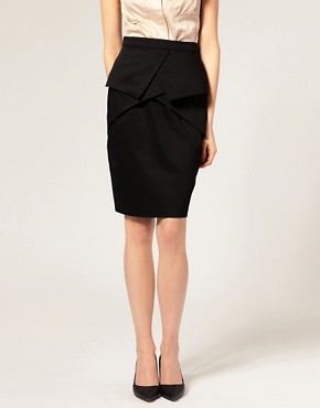 Image 4 of ASOS Layered Pencil Skirt