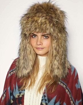 Image 1 of Ana Konder For ASOS Trapper Hat