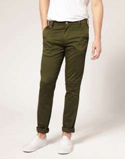Image 1 of Monkee Genes Olive Slim Chino Pants