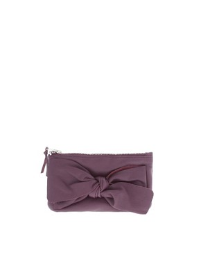 Image 1 ofAnd Mary Bright Leather Bow Purse