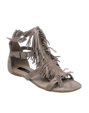 Image 1 of ASOS FRANKIE Leather Sandal