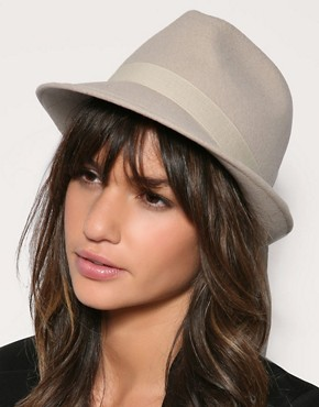 Image 1 ofReiss Medoc Trilby Hat