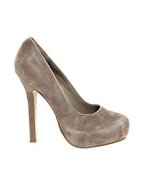 Image 1 ofMiss KG Eden Concealed Platform Heeled Court Shoes