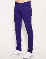 Monkee Genes Purple Skinny Jeans