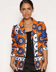 ASOS AFRICA Printed Blazer
