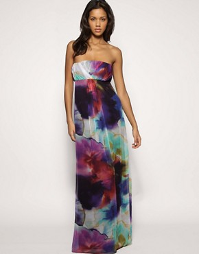 Image 1 of ASOS Rainbow Maxi Dress
