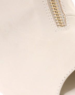 Image 1 ofASOS PANTHER Zip Front Peep Toe Sandal