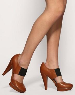 Image 3 ofASOS PING Elastic Front Platform Shoes