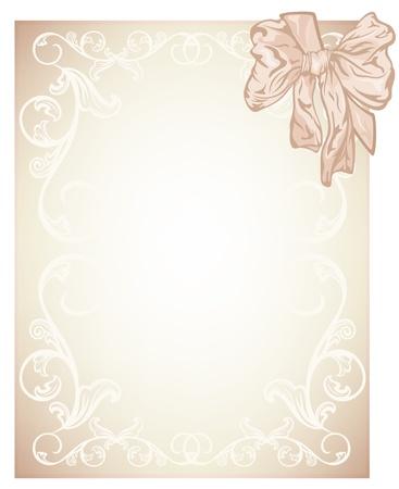 elegant beige blank for wedding