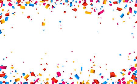 colorful celebration frame background