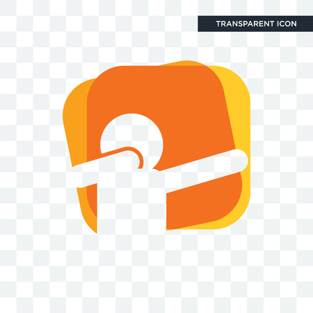 dab vector icon isolated