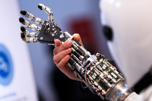 automation robots conquered stock