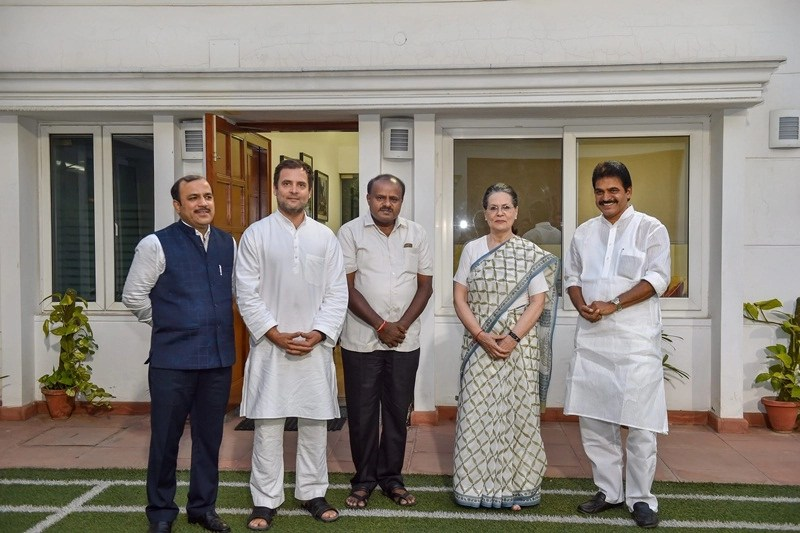 Karnataka Elections 2018 Unholy Alliance Needs A Dip In