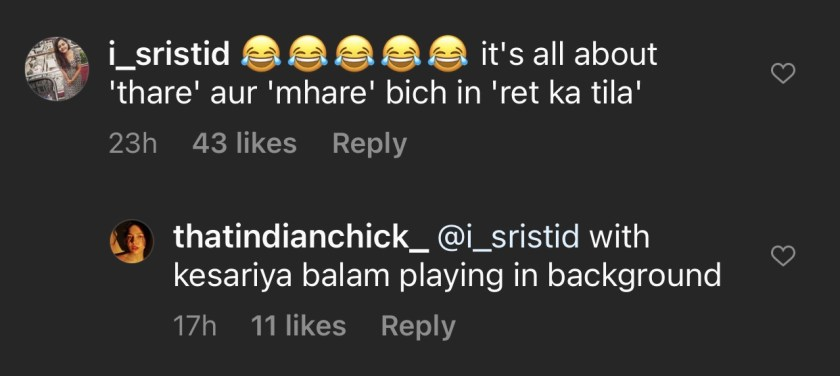 Instagrammer's parody on 'How Rajasthanis talk according to Bollywood' takes internet by storm