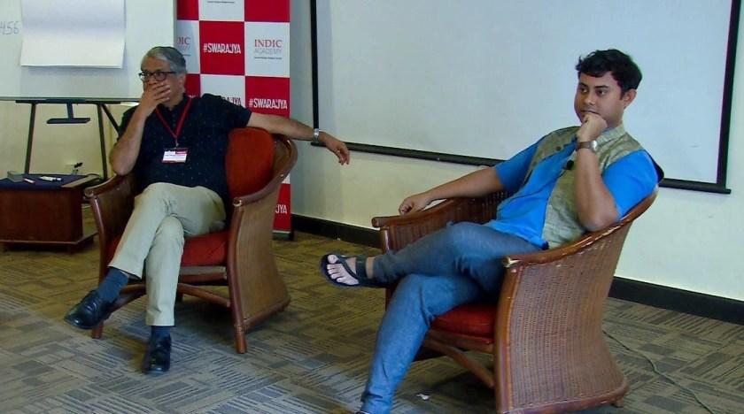 Hindol Sengupta in conversation with R Jagannathan