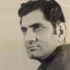 Anand Bakshi was one of the industry's best and most successful lyricists. (Photo Courtesy: Khalid Mohamed)