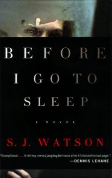 """Before I Go to Sleep"" by S. J. Watson"