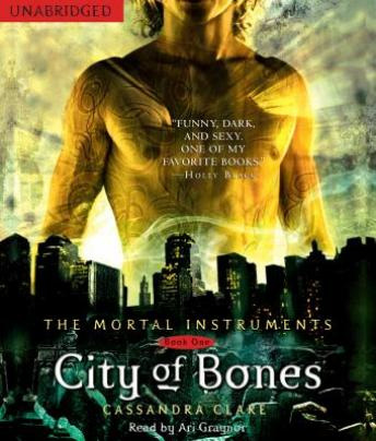 The City of Bones audio book by Cassandra Clare