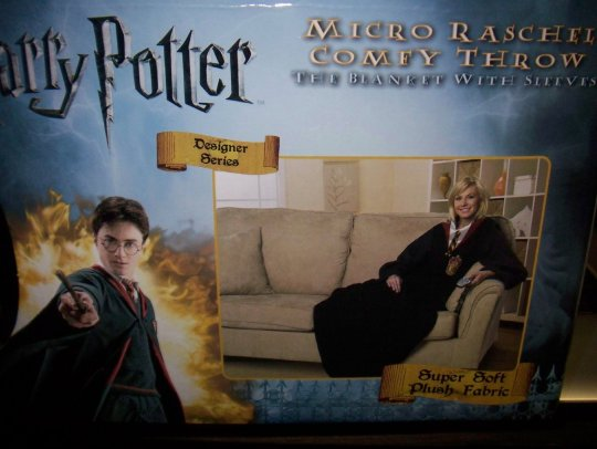 Harry Potter blanket with sleeves