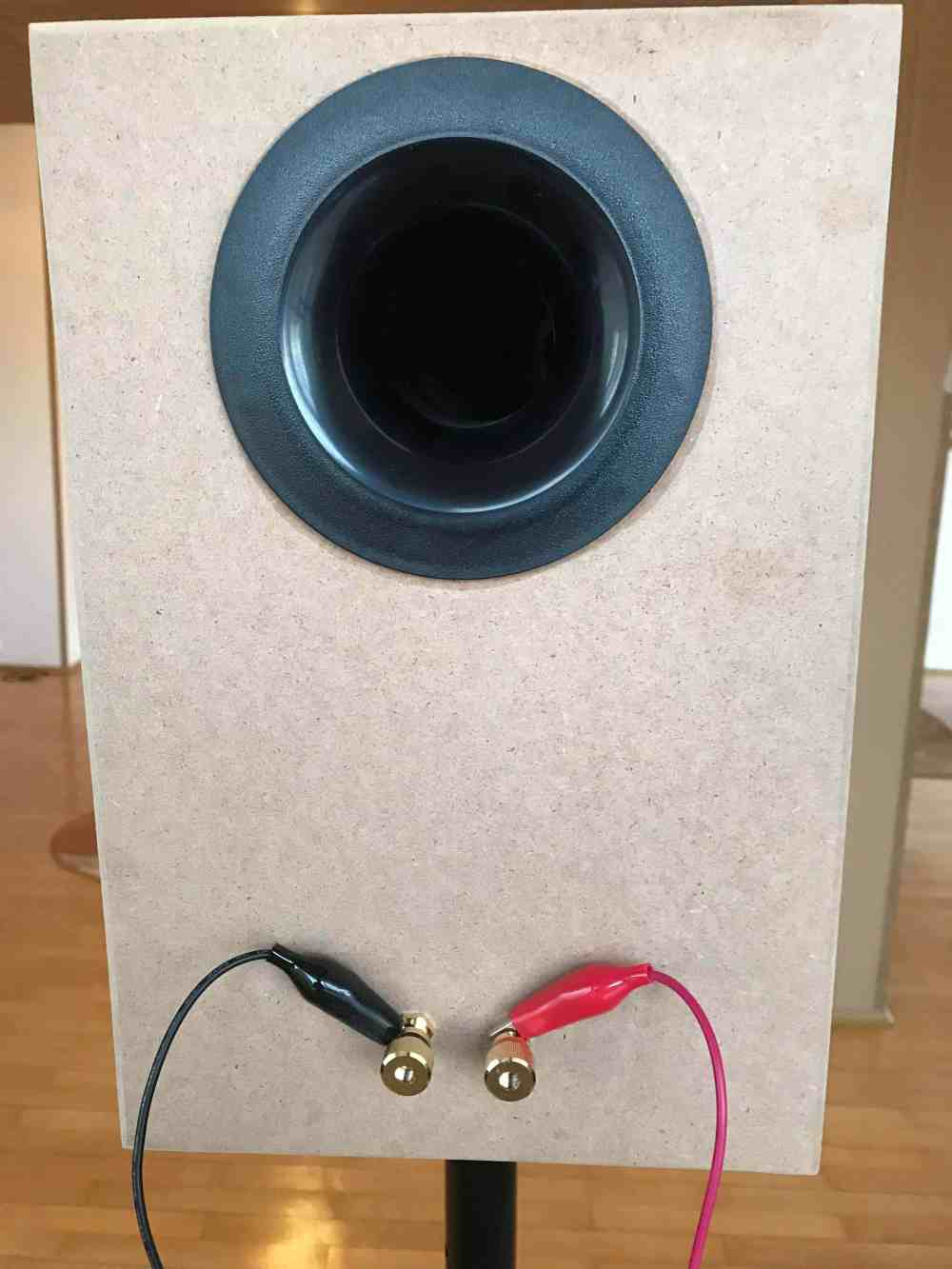 medium resolution of disconnect the tweeter and connect the bass driver in the same fashion make a measurement for each driver normal wiring