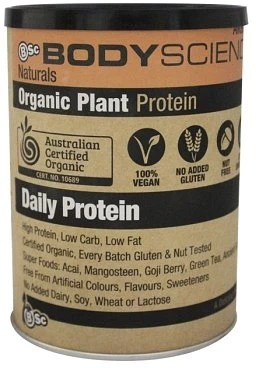 BSc Naturals Organic Vegan Plant Protein Chocolate