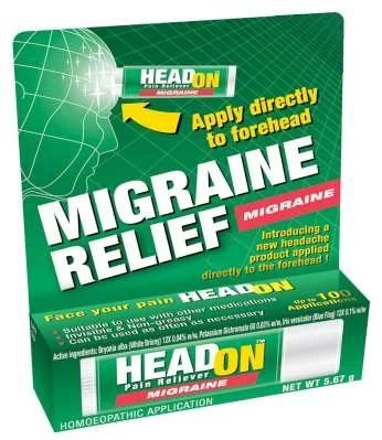 headon pain reliever headon