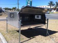 Alunimiun Lift Off Canopy / Toolbox For 8*6 Single Cab Ute